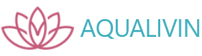 Aqualivin logo with description