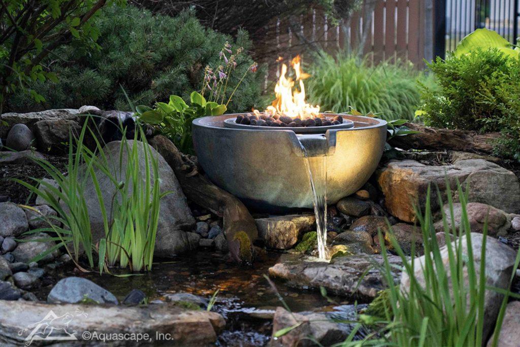 Natural fountain